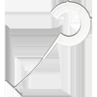 Крючок 35 мм R (5000)